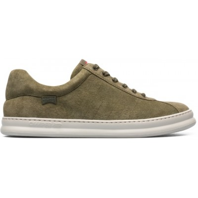 Camper Runner Four Trainer - Khaki Suede