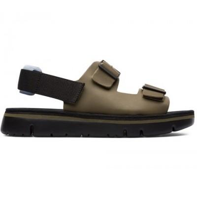 Camper Oruga Buckle Sandal - Khaki