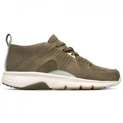 Camper Drift Hi-Top Trainer - Khaki