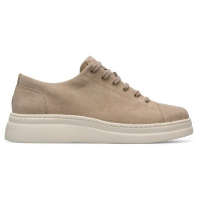 Camper Runner Up Trainer - Beige suede