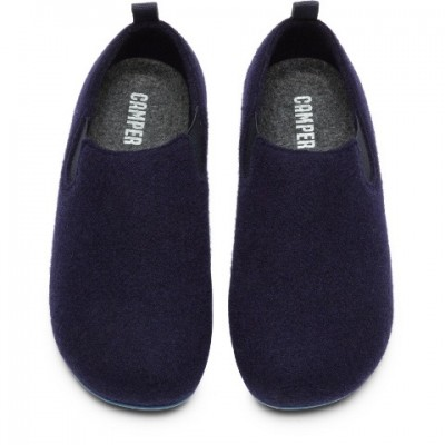 Camper Wabi Ladies Full Slipper - Blue