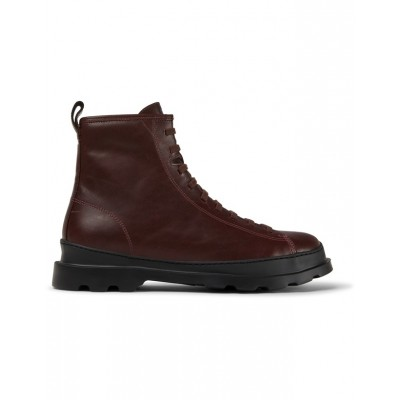 Camper Brutus Boot - Burgundy