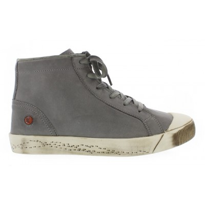 Softinos Kip High Top - Grey leather
