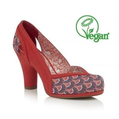 Ruby Shoo Livia - Coral - Vegan