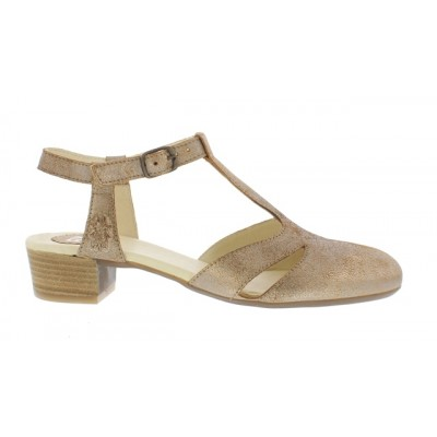 Fly London Lure T-Bar shoe-gold