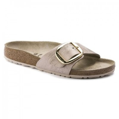 Birkenstock Madrid Big Buckle - Rose Gold