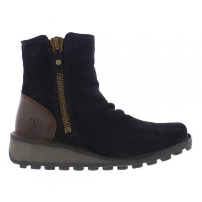 Fly London MONG Ankle Boot - Navy