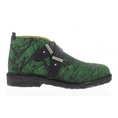 Fly Cabe Women's Buckle Boot Green/Black