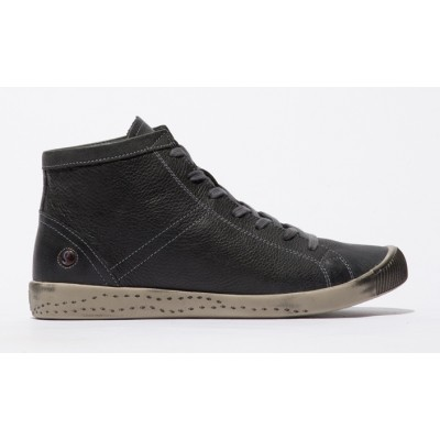 Softinos Isleen High Top - Washed Anthracite