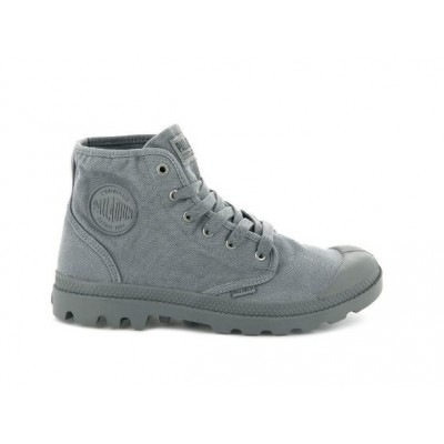 Palladium Ladies Pampa Hi -Titanium (light grey)