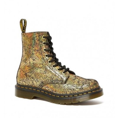 Dr Martens 1460 Pascal - Gold Crackle