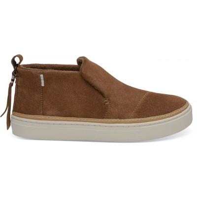 Toms Paxton Ankle Boot - Brown Suede