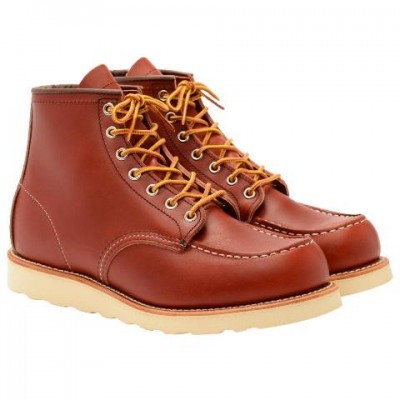 Red Wing Moc Toe Heritage Boot- Oro Russet