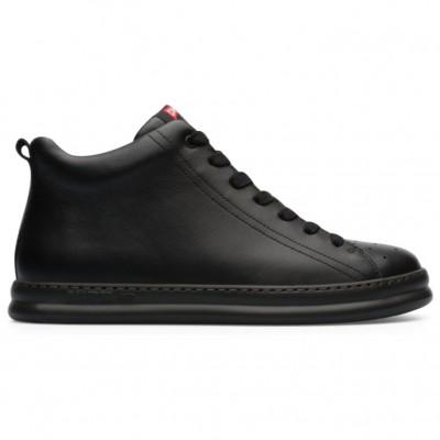 Camper Runner Four Boot - Black Leather