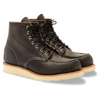 Red Wing Moc Toe Heritage Boot in Charcoal