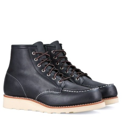 Red Wing Ladies Moc Toe- Black