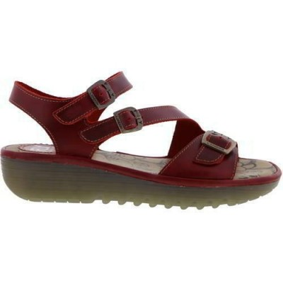 Fly London Elit Sandal - Red