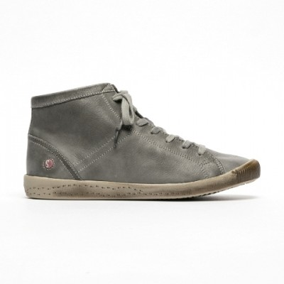 Softinos Isleen Hi Top - Militar