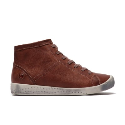Softinos Isleen Hi Top - Cognac