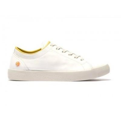Softinos Sady Trainer - White/Yellow