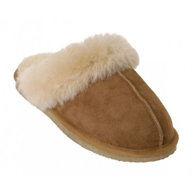 Shepherd of Sweden Jessica Slipper - Chestnut
