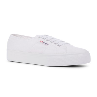 Superga 2790 Platform Trainer - White