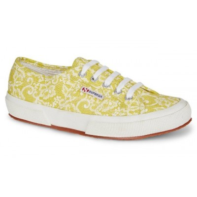 Superga 2750 Fantasy Cotu - Lace Yellow