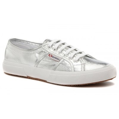 Superga Women's 2750 Cotmetu in Silver