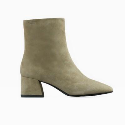 Vagabond Alice Suede Boot - Olive