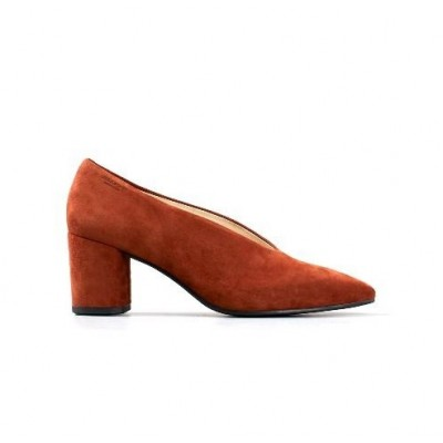 Vagabond Tracy court shoe- Terracotta