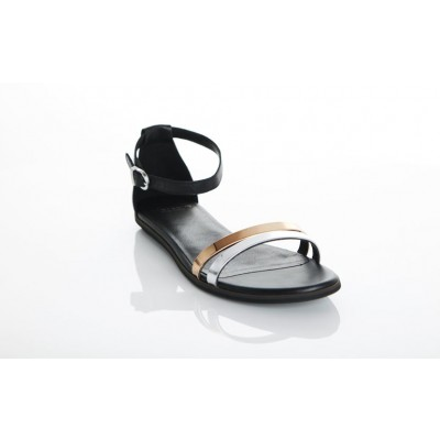 Vagabond Women's Natalia Metallic Multi Flat Sandal 3908-202-89