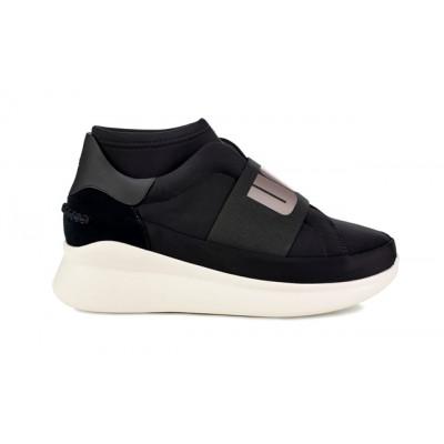 UGG Neutra Platform Sneaker - Black