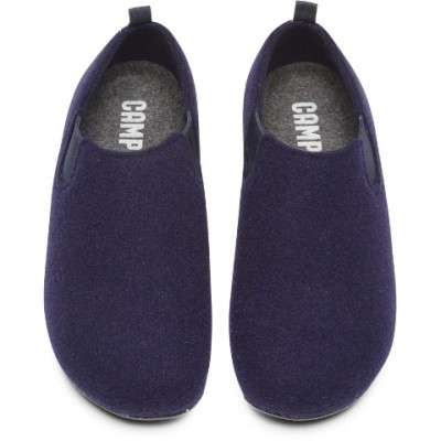 Camper Wabi Closed Back Slipper - Blue