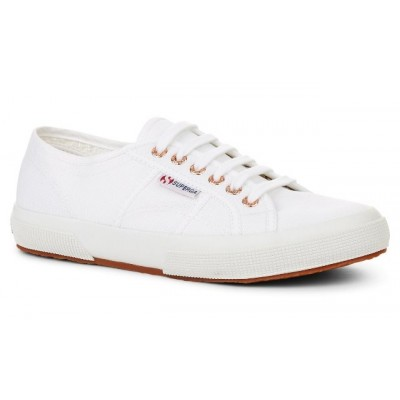 Superga 2750 Cotu Classic - White/Rose Gold