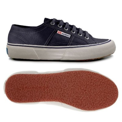 Superga 2490 Cotu retro trainer- Navy