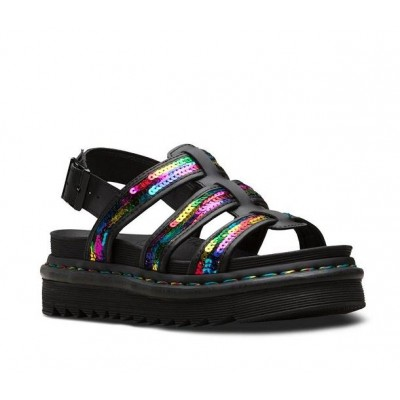 Dr Martens Yelena sandal - Rainbow