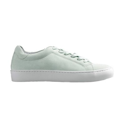 Vagabond Zoe Suede Lace up Trainer Mint