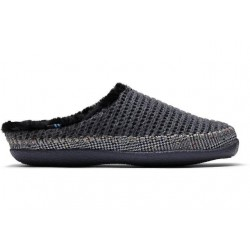 Toms Ivy Slippers - Grey Knit