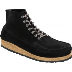 Birkenstock Marton suede boot- black