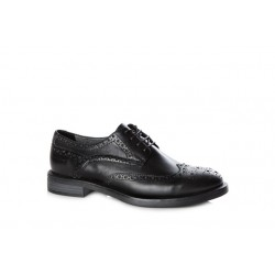 Vagabond Amina Women's Leather Brogue Lace Up Shoe Black