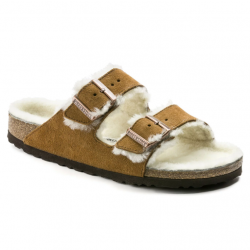Birkenstock Arizona Fur - Mink