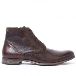 Sneaky Steve Dirty Mid Brown Leather Boot