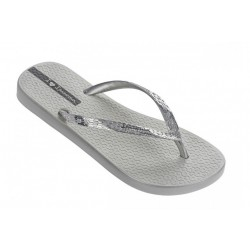 Ipanema Glam Women's Chrome silver Flip Flop