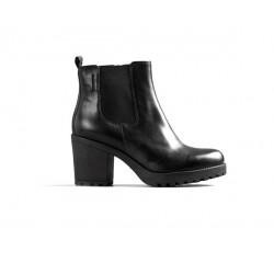 Vagabond Grace Zip Chelsea Boot- Black