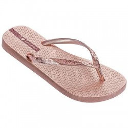 Ipanema Glam Women's Rose Gold Flip Flop