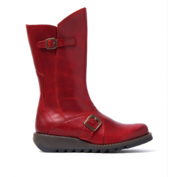 Fly London Mes 2- Red Leather