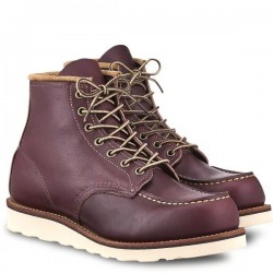 Red Wing Moc Toe Heritage Boot- Oxblood