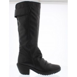 Fly London Waki - Black Leather