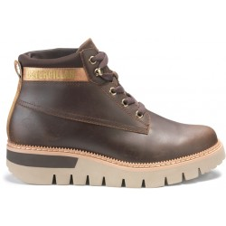 CAT Pastime Leather Boot - Brown
