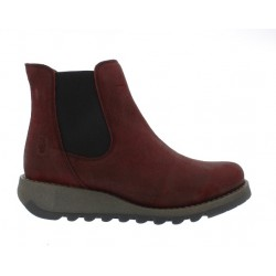 Fly London Salv - Berry suede